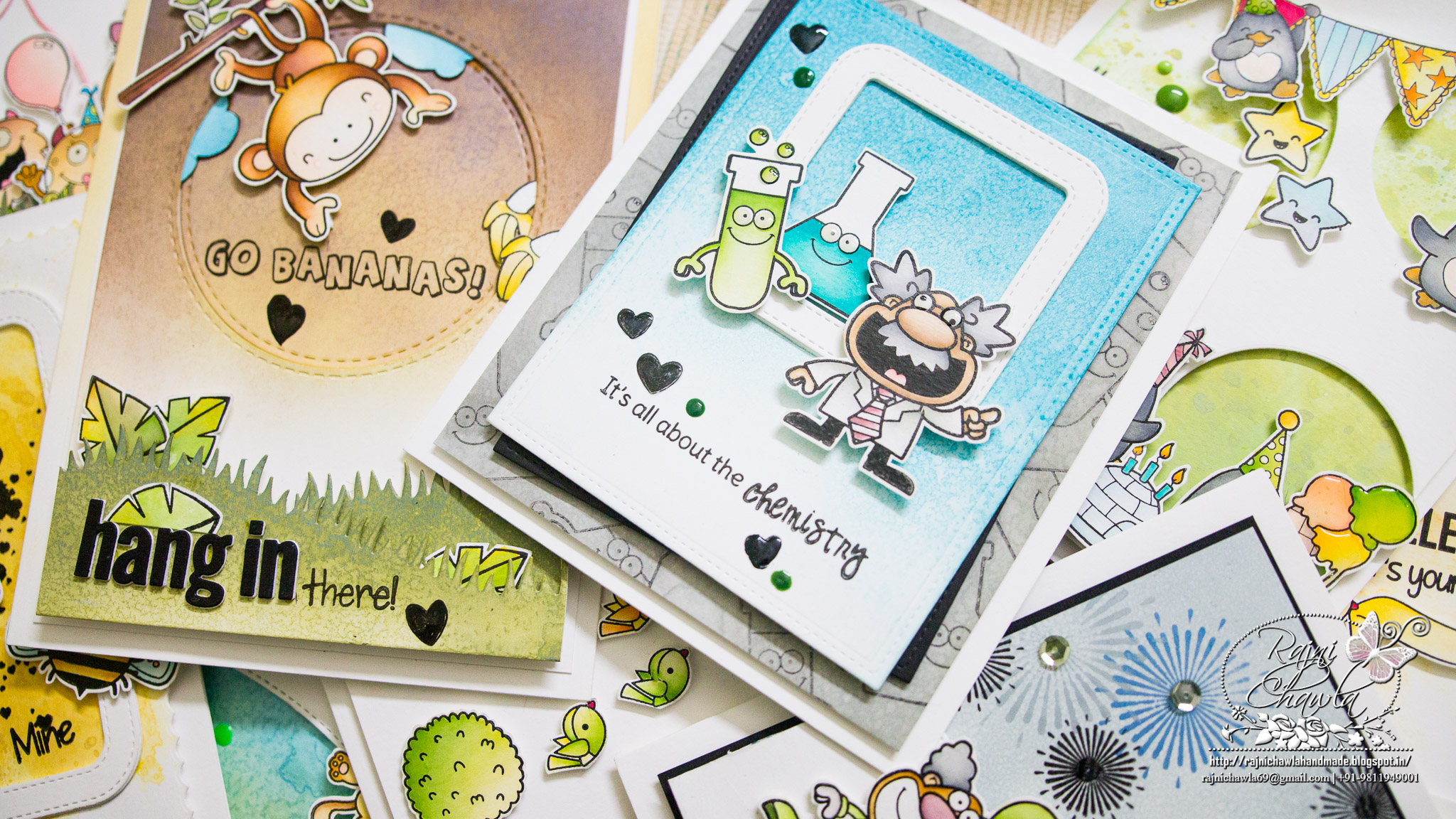 Some more cute n Happy cards for YNS