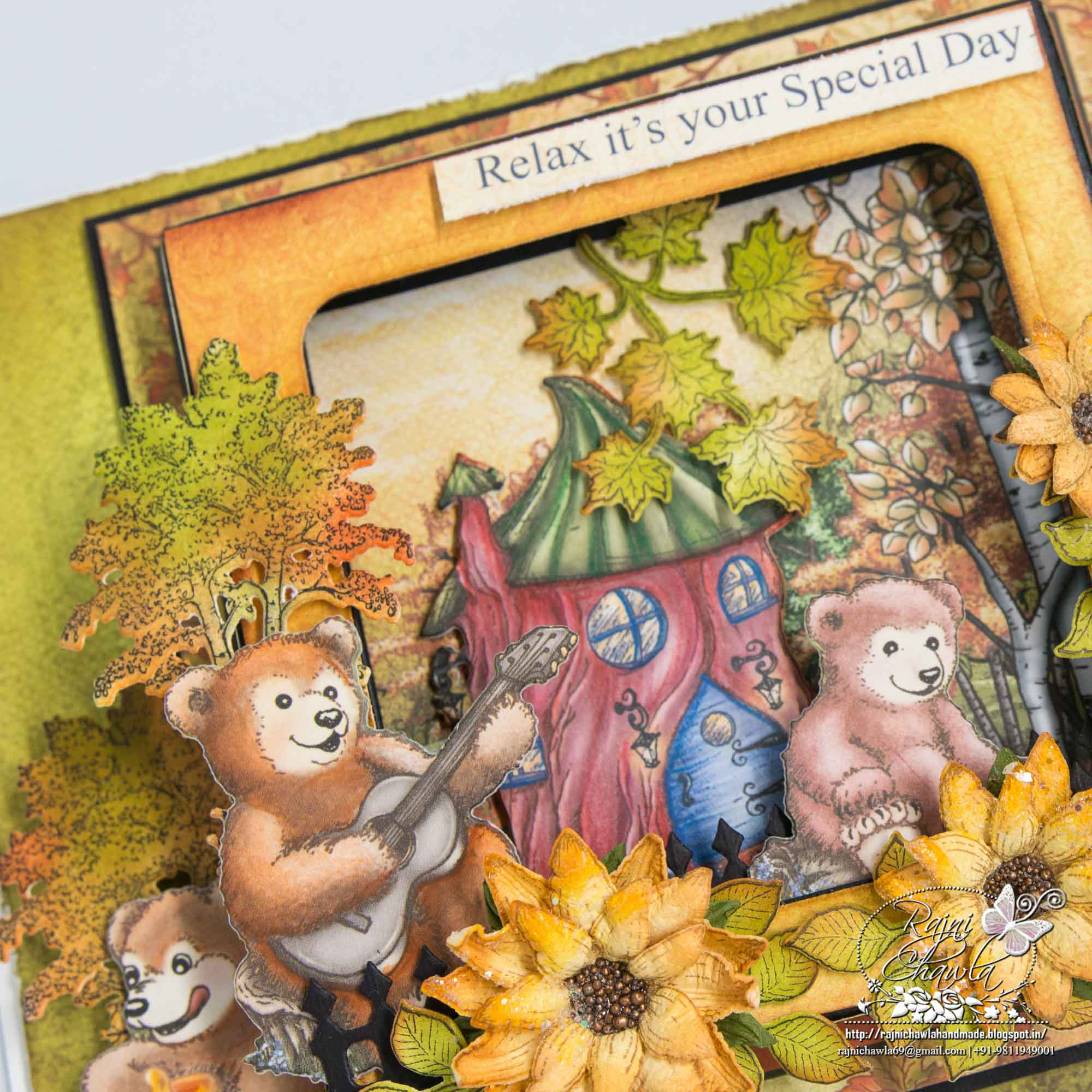 Debuting Beary Fun Retreat Collection By Heartfelt Creations