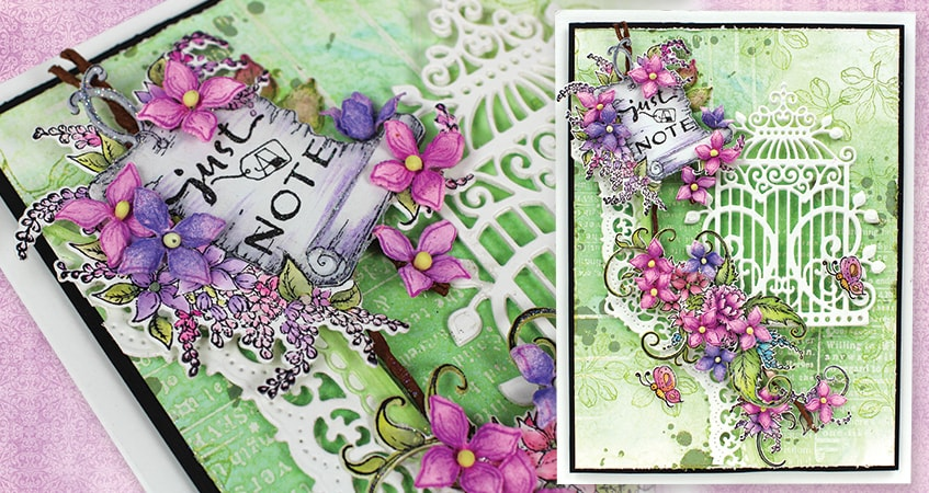 Delightful Note (Lush Lilac Collection)