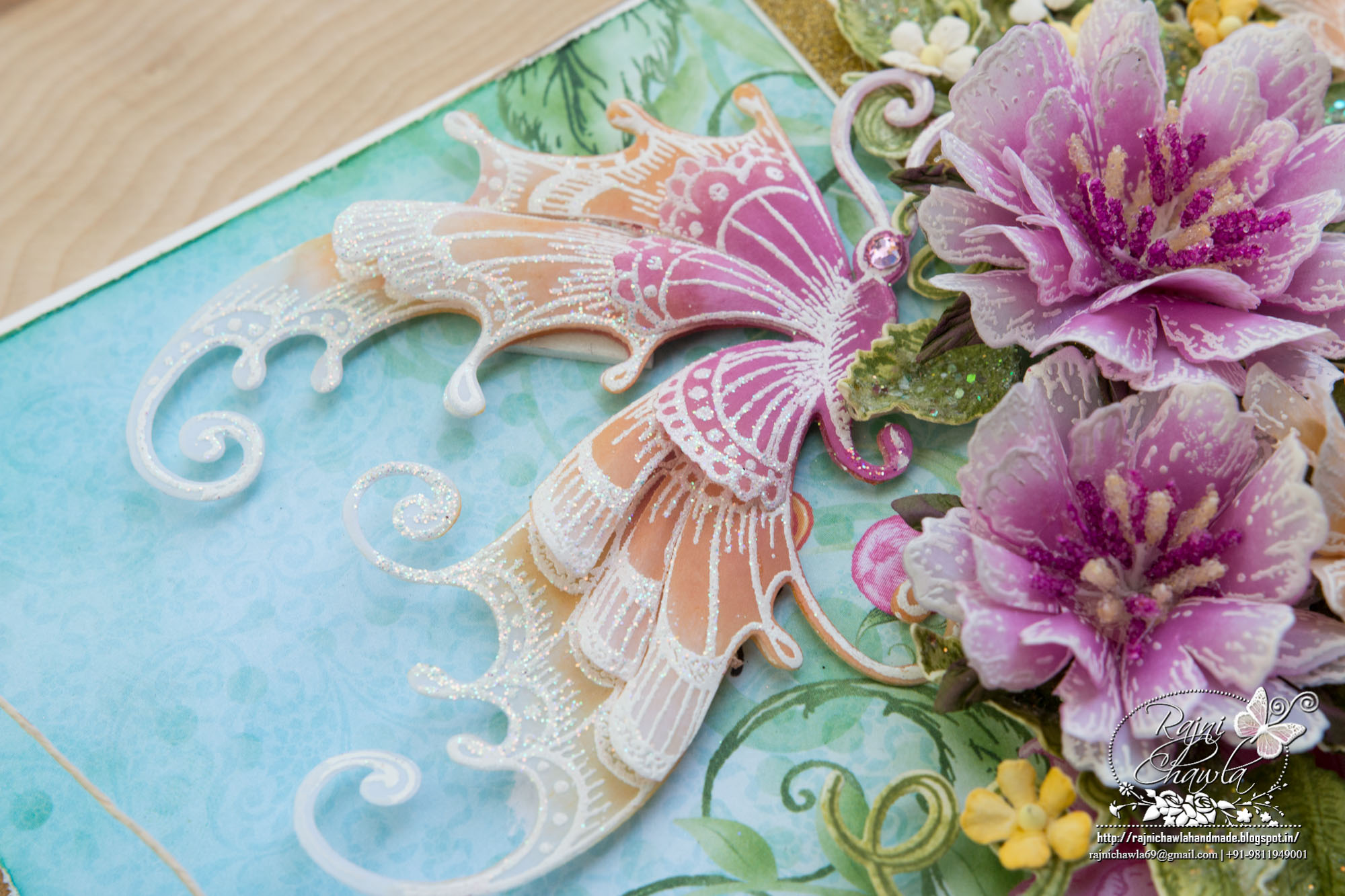 Spring Cards (Butterfly Dreams n Sweet Peony Collection)