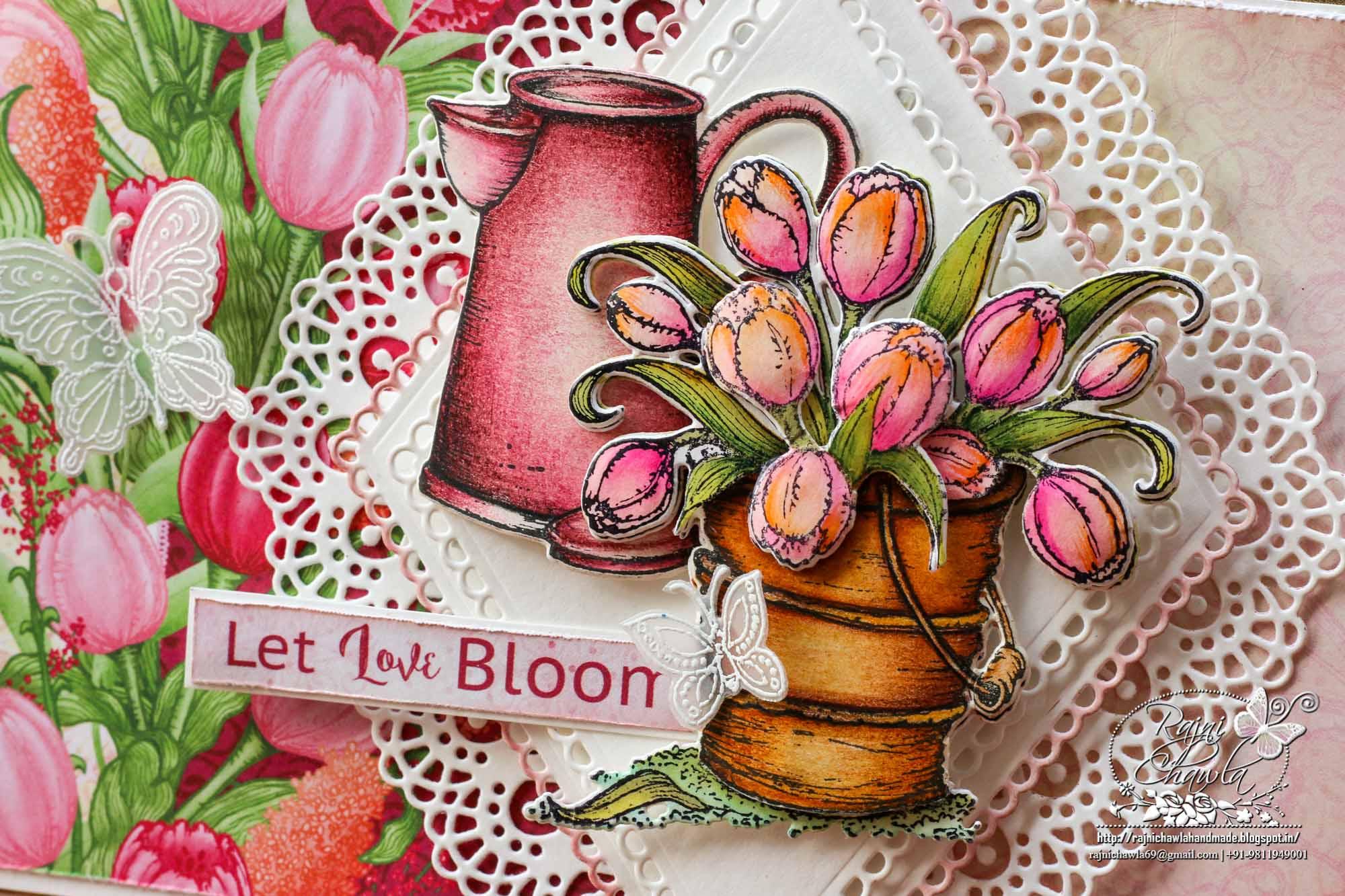 Let Love Bloom (Debuting The Lacy Diamond Dies)